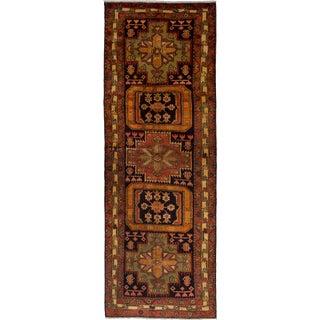"Ardabil Vintage Persian Rug, 3'6"" x 10'2"" feet"
