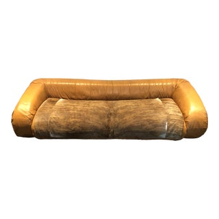 "1970s Vintage Alessandro Becchi for Giovannetti Iconic ""Anfibio"" Sofa For Sale"