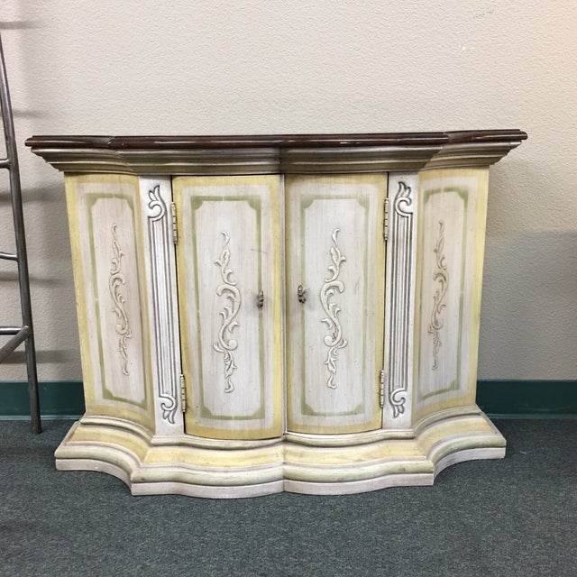 Small French Country Console - Image 3 of 6