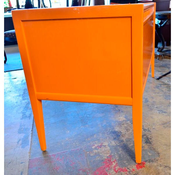 Broyhill 1970s Vintage Broyhill Mid Century Modern Desk For Sale - Image 4 of 6