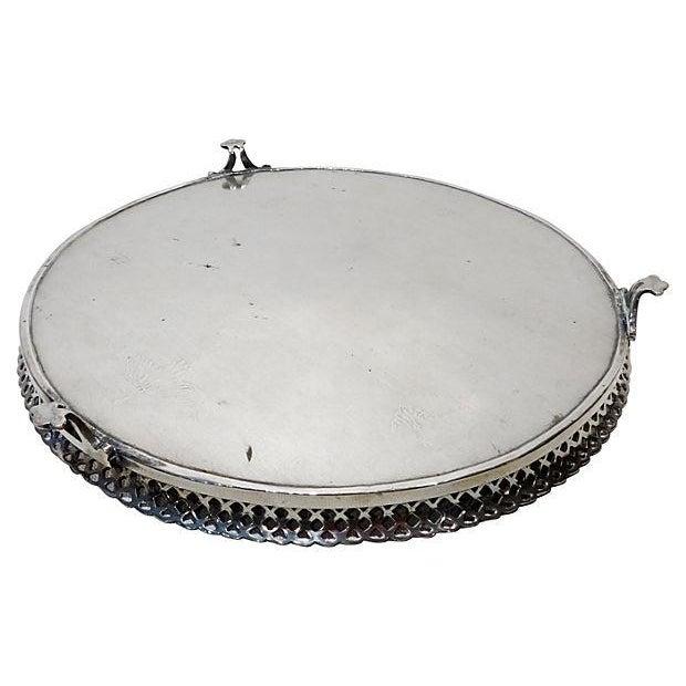 Portuguese Silver Salver - Image 4 of 6