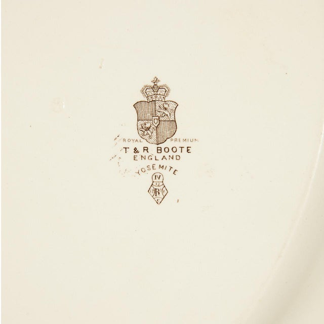 Ironstone Platter of Yosemite For Sale In Los Angeles - Image 6 of 7