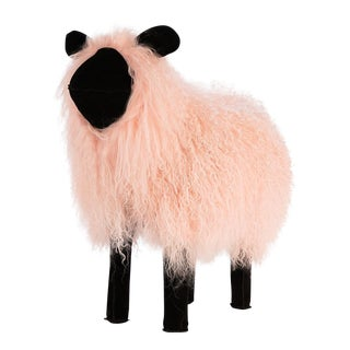 Pink Tibetan Lamb Sheep
