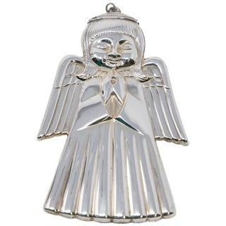1975 Gorham Sterling Angel Figurine For Sale