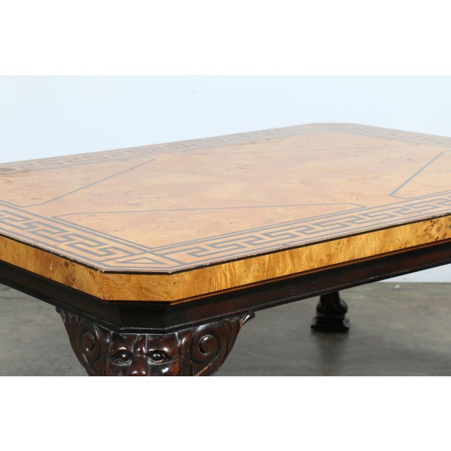 Baker Burlwood Coffee Table - Image 6 of 11