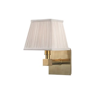 Dixon 1 Light Wall Sconce - Aged Brass For Sale