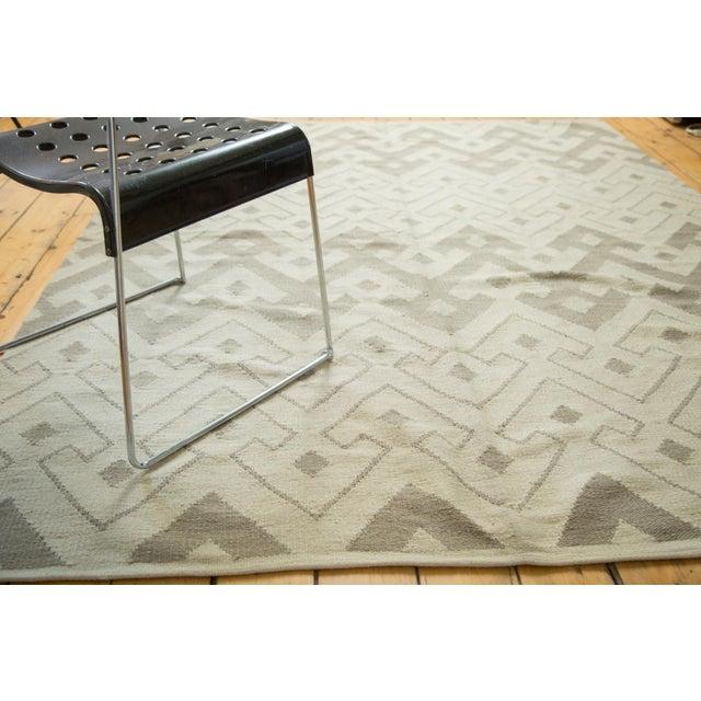 "Abstract Kilim Carpet - 6' X 7'10"" - Image 6 of 8"