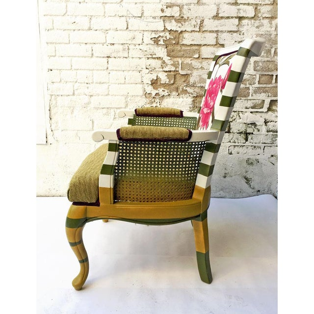 Floral Peony Chair - Image 4 of 5