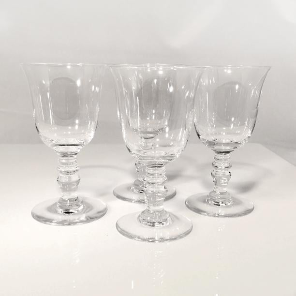 Transparent 1970s Vintage Baccarat Crystal Provence Cordial Glasses- Set of 4 For Sale - Image 8 of 8