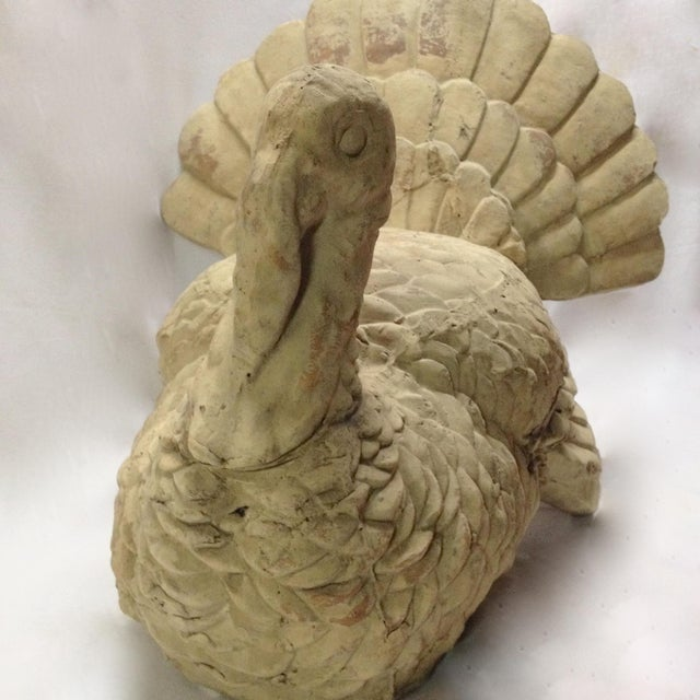 Turkey Sculpture Fall Thanksgiving Decoration - Image 8 of 8