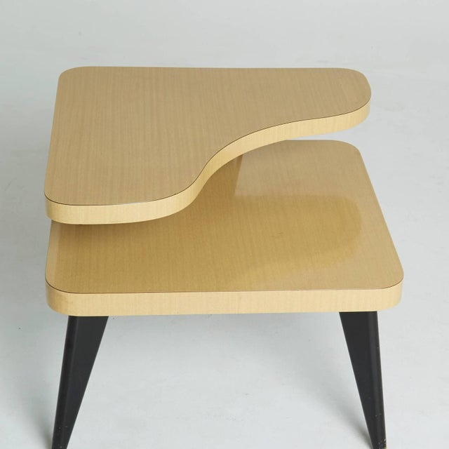 Two-Tier Mid-Century Side Tables - A Pair - Image 5 of 7