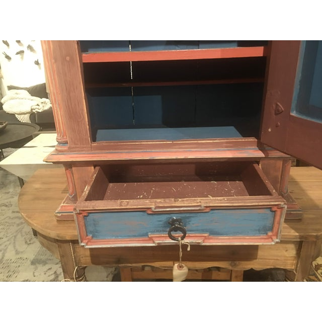 19th Century Antique Swedish Cabinet For Sale - Image 9 of 13