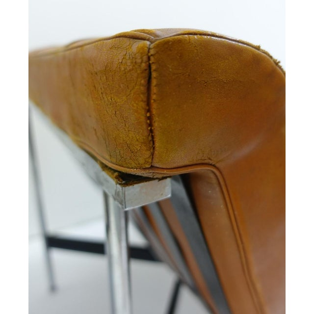 1990s Pair of Two Armchairs by William Katavolos for Icf Milano, 1990 Italy For Sale - Image 5 of 8