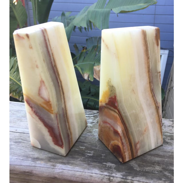 Modern Onyx Bookends - A Pair - Image 7 of 7