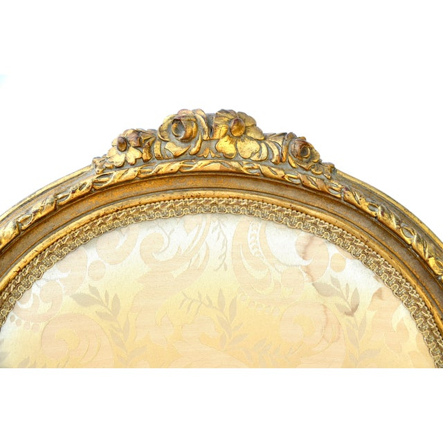 Mid 19th Century Exceptional Louis XVI Style Gilt Fauteuils Armchairs - a Pair For Sale - Image 5 of 8