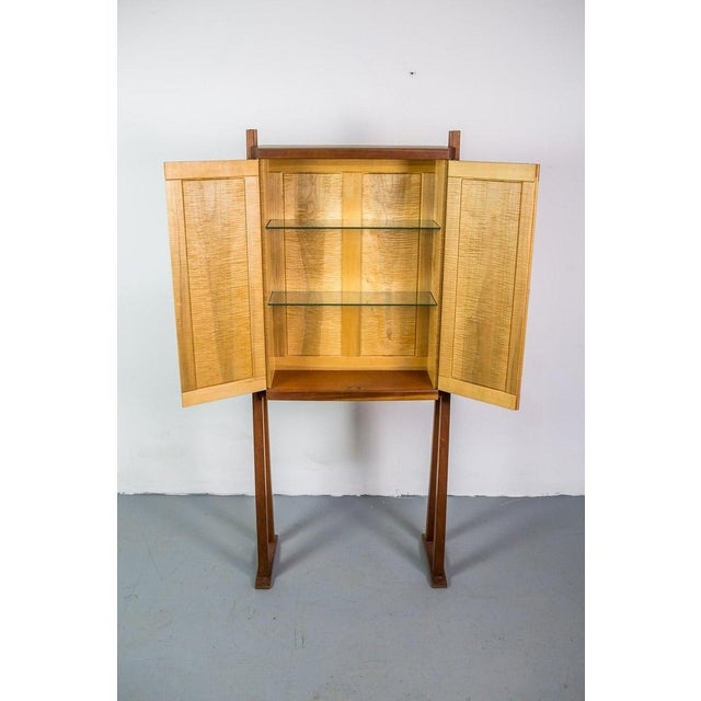 Tall Studio Cabinet in Wood by an American Craftsman For Sale - Image 6 of 10