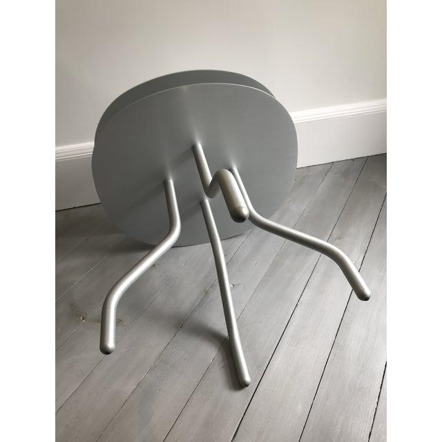 "2010s ""Taco"" Aluminum Side Table by Francesca Lanzavecchia For Sale - Image 5 of 7"