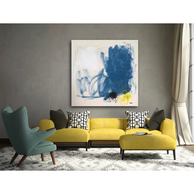 """Abstract """"Finer Things"""", Sarah Trundle, Contemporary Abstract Painting For Sale - Image 3 of 4"""