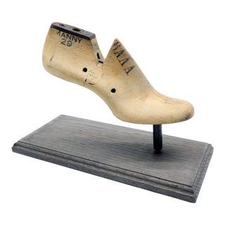 Vintage Decorative Shoe Last For Sale