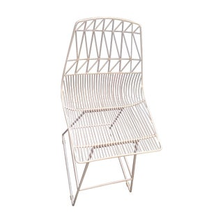 Bend Goods White Bar Stool For Sale