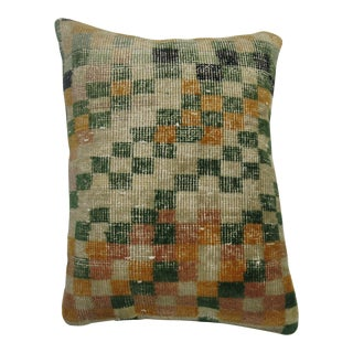Shabby Chic Turkish Deco Rug Pillow For Sale