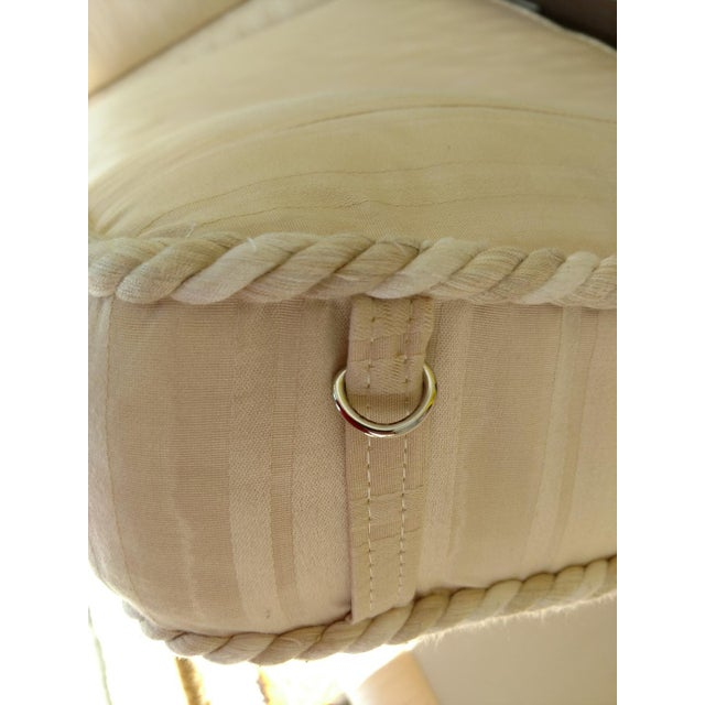 Brass 20th Century Empire Baker Furniture Daybed For Sale - Image 7 of 11