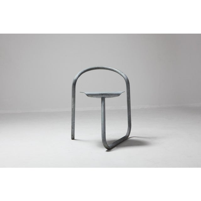 Postmodern chairs which uses the tube as perpetual inspiration, by Erik Magnussen. The chair was designed for famous...