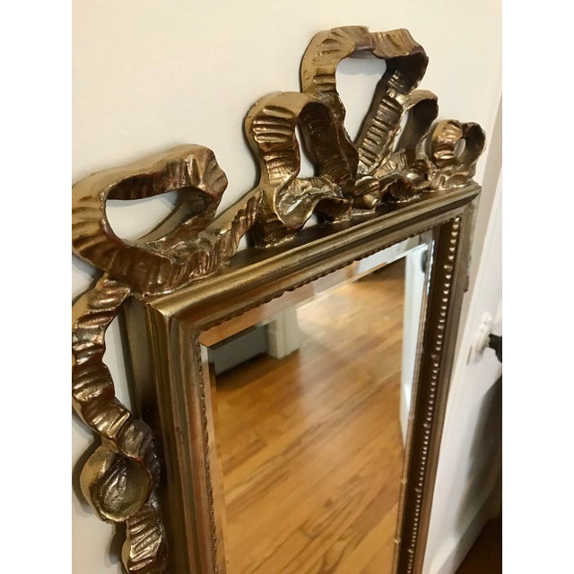 Carolina Mirror Company Carolina Mirror Company Gilt Wall Mirror For Sale - Image 4 of 7