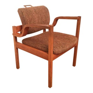 Vintage Mid Century Danish Sculptural Accent Chair For Sale