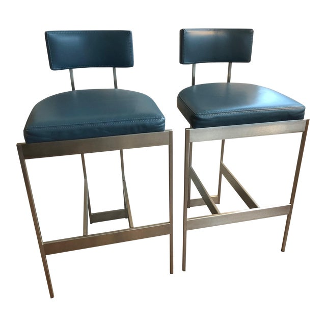 Vintage Powell & Bonnell Alto Stools - A Pair For Sale