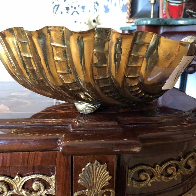 Italian 1970s Vintage Italian Shell Bowl For Sale - Image 3 of 9