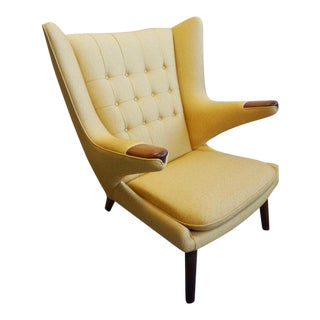 Hans Wegner Danish Modern Papa Bear Chair