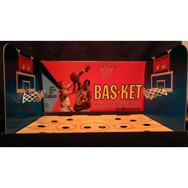 1966 Cadaco Bas-Ket Basketball Board Game - Image 3 of 11