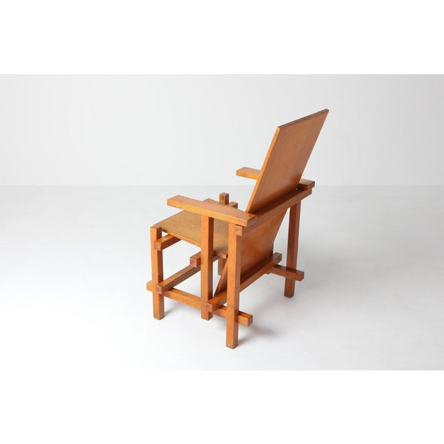 1920s Modernist Armchairs Attributed to Gerrit Rietveld For Sale - Image 5 of 10