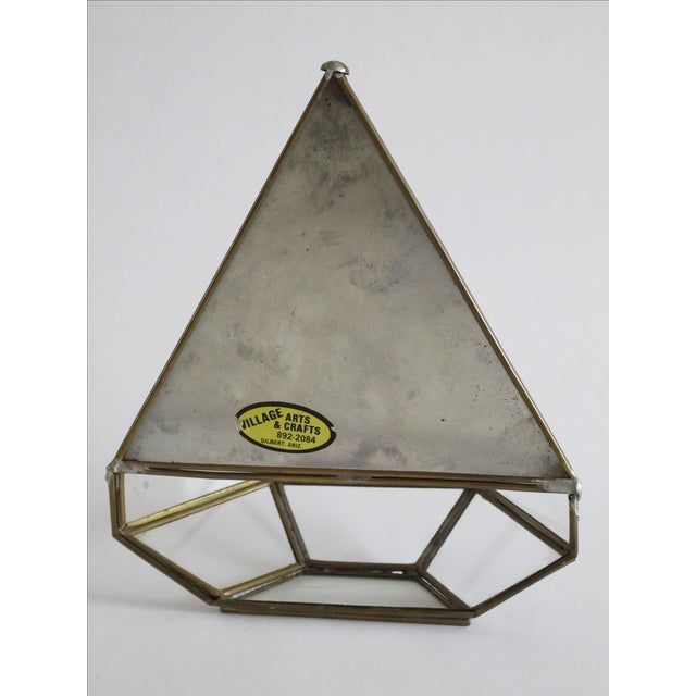 Mirrored Geometric Terrarium - Image 7 of 7