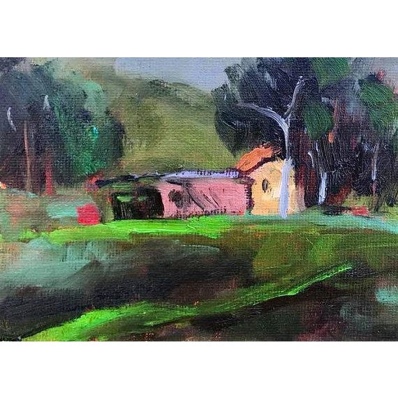 2010s Pena Adobe Park Vacaville Oil Painting For Sale - Image 5 of 8