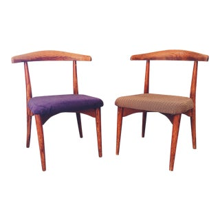 Mid-Century John Stuart Dining Chairs - A Pair For Sale