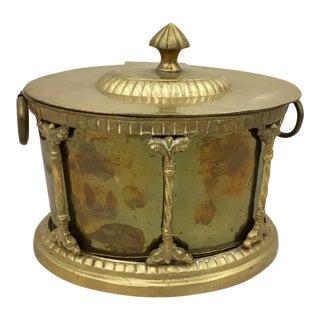 Vintage Brass Caddy Box