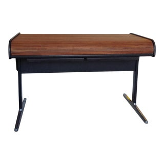 George Nelson Herman Miller Walnut Rolltop Desk