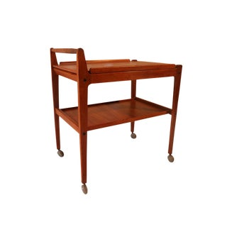 Mid Century Teak Artie Swedish Bar Cart