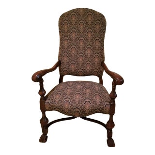 1940s Louis XIV Style Armchair With Lion Paw Feet For Sale