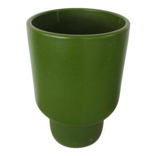 Gainey Chalice Avocado Ceramic Planter
