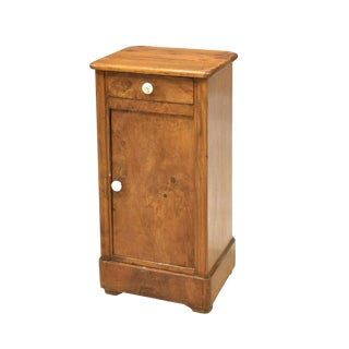 19th Century French Louis Philippe Side Cabinet / Nightstand For Sale