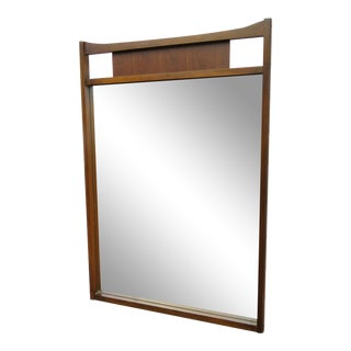 Mid Century Modern Wall Bathroom Vanity Mirror For Sale