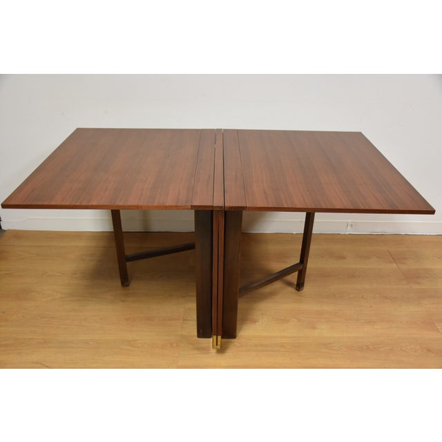 Brown Bruno Mathsson Style Maria Dining Table For Sale - Image 8 of 9