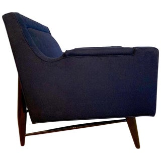 Mid-Century Modern Cashmere Chair For Sale