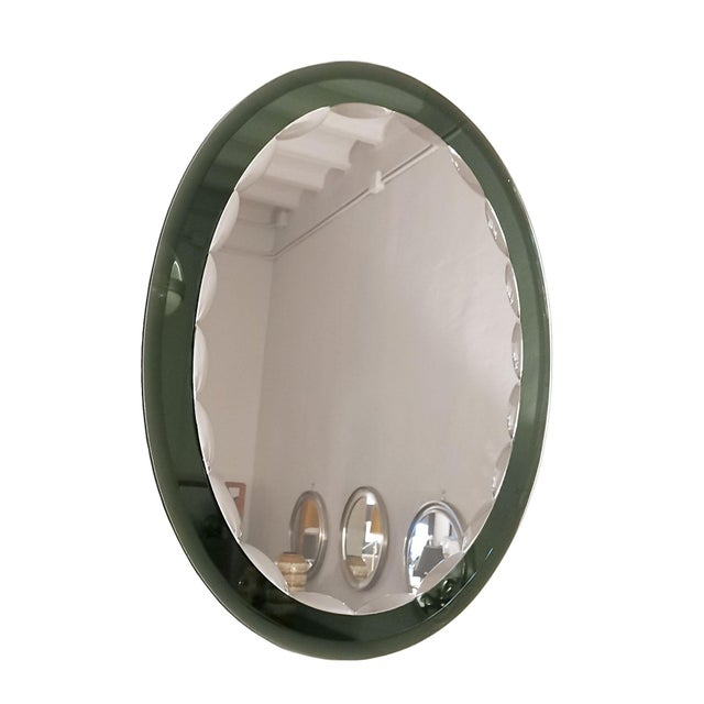 1960s 1960´s Beveled Mirror With Beveled Mirror Frame - Italy For Sale - Image 5 of 5