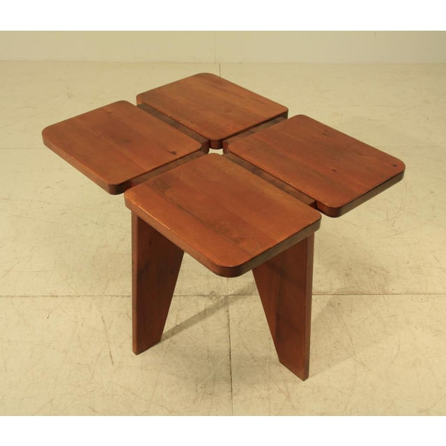 Lisa Johansson-Pape table and stools - Image 5 of 5