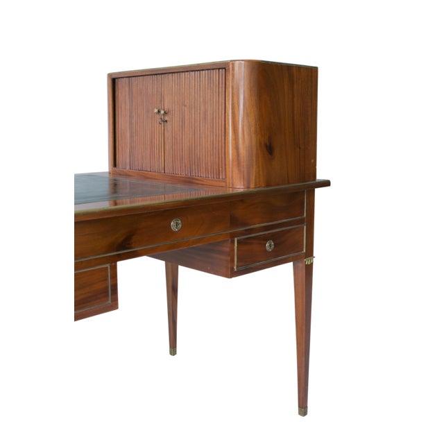 Brass L. 18th C. Swedish Gustavian Desk For Sale - Image 7 of 8
