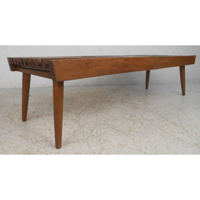 Vintage Expanding Slat Coffee Table Chairish